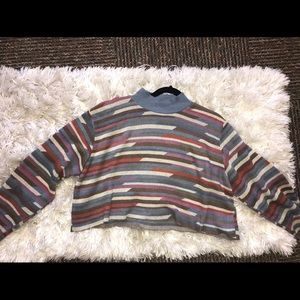Vintage cropped sweater